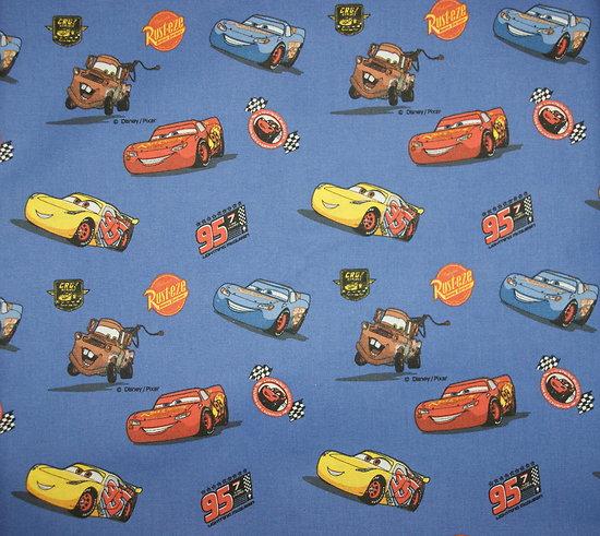 Drap de maternelle en coton  - imprimé Cars