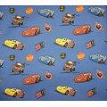 Drap de maternelle / serviette de cantine en coton  - imprimé Cars