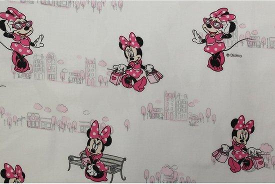 Drap de maternelle / serviette de cantine en coton  - imprimé Minnie (2)