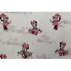 Drap de maternelle en coton  - imprimé Minnie (2)