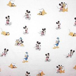 Drap de maternelle en coton  - imprimé Mickey et ses amis