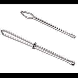 Pinces à élastique en acier inoxydable 80mm/64mm