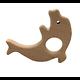 Anneau de dentition en bois naturel sans traitement chimique - dauphin