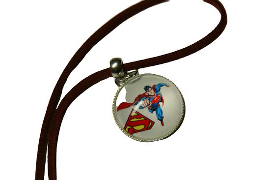 Collier garçon super héros (2)