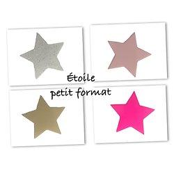 Flex thermocollant étoile PF - 4 couleurs