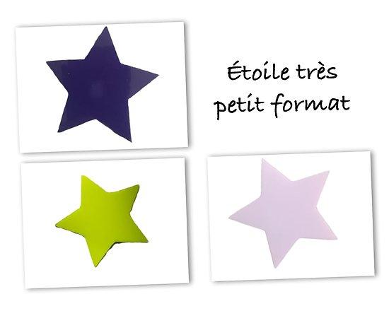 Flex thermocollant étoile TPF - 3 couleurs
