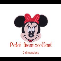 Patch thermocollant Minnie 8x9cm