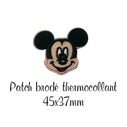 Patch thermocollant brodé Mickey 45x37mm
