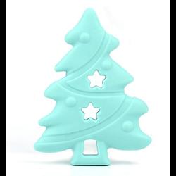 Anneau de dentition sapin de Noël mint 84x63mm