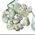 Grosse perle brute en préhnite 2/3cm
