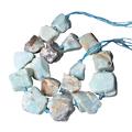 Grosse perle brute en amazonite 2/3cm