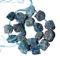 Grosse perle brute en apatite 2/3cm