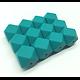 Perle hexagonale GF en silicone sans BPA 17mm