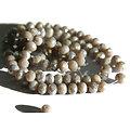 15 perles à facettes hyper brillantes 5x6mm