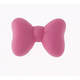 Perle noeud papillon dodu en silicone sans BPA 28x20x10mm