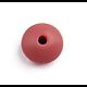 Perle lentille en silicone alimentaire 12x12x7mm * vendue à l'unité