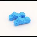 Perle moto en silicone alimentaire 32x16x10mm