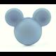 Perle souris / Mickey en silicone 20x24x14mm