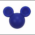 Perle Mickey / tête de souris en silicone 20x24x14mm