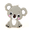 Anneau de dentition koala en silicone alimentaire sans BPA 90x88mm