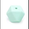 Perle hexagonale PF en silicone sans BPA 14x14x14mm