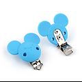 Clip Mickey en silicone alimentaire 56x61mm