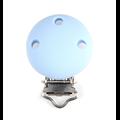 Clip rond pour attache-tétine en silicone sans BPA (PF) 30mm