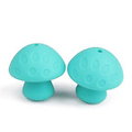 Perle champignon en silicone alimentaire sans BPA