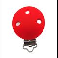 Clip rond pour attache-tétine en silicone sans BPA (GF) 35mm