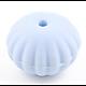 Perle citrouille à rainures en silicone alimentaire sans BPA 18mm