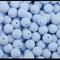 Perle ronde en silicone alimentaire sans BPA 12mm