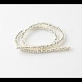 10 perles d'hématite à facettes 6x3mm