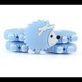 Perle / anneau de dentition hérisson en silicone alimentaire sans BPA