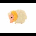 Perle mouton en silicone alimentaire sans BPA 28x21mm