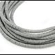Brin de perles rondelles Katsuki en polymère 5mm - 45cm soit +/- 500 perles