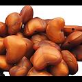 Perle coeur dodu en silicone alimentaire 19x16x10mm