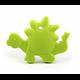 Anneau de dentition dinosaure en silicone alimentaire sans BPA 80x61mm