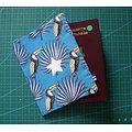 Protège-passeport toucan
