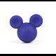 Perle XL Mickey / tête de souris en silicone 32x27x19mm