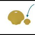 Perle ou anneau de dentition coquillage en silicone alimentaire sans BPA