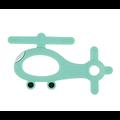 Perle ou anneau de dentition hélicoptère en silicone alimentaire sans BPA