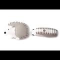Perle hérisson / petit tangue en silicone alimentaire sans BPA 33x25mm