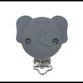 Clip éléphant en silicone alimentaire sans BPA