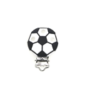 Clip rond football en silicone alimentaire sans BPA 35mm