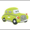 Perle ou anneau de dentition voiture vintage en silicone alimentaire sans BPA