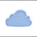 Anneau de dentition nuage en silicone alimentaire sans BPA 90x62mm