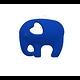 Anneau de dentition éléphant en silicone alimentaire sans BPA 90x68mm