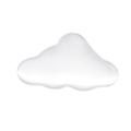 Perle nuage en acier inoxydable 11x6mm