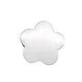 Perle fleur en acier inoxydable 8,5x8mm