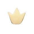 Perle couronne en acier inoxydable 7,7x7,1mm